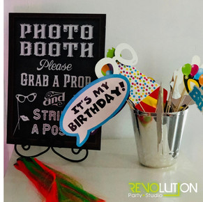 photo booth for teen parties at event venue