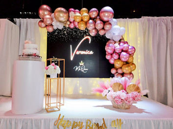Quincenera Teen Party in Banquet hall in Kendall