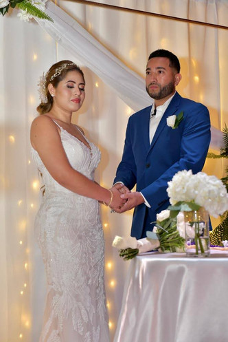 couple getting married in miami