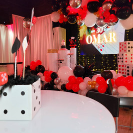 30th birthday party in event venue in miami