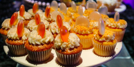 decorated cupcakes catering service