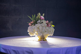 flower arrangement for centerpiece banquet hall in miami