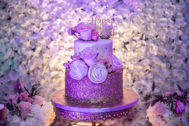 sweet 16 party birthday cake