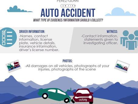 Auto Accident Evidence