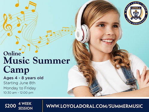 Music Summer Camp (4-Week Session)