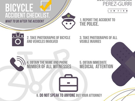 Bicycle Accident Checklist