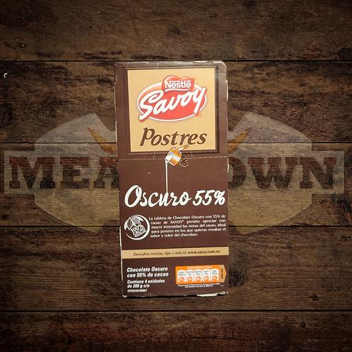 Chocolate Oscuro Savoy ideal para Postres 55%