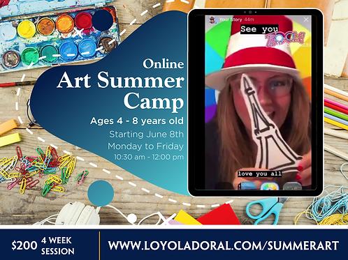 Art Summer Camp (4-Week session)