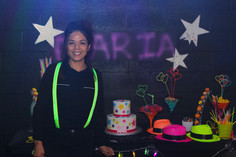 event hall employees at teen party