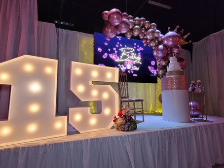 Tips for Choosing a Banquet Hall for your Birthday XV 🎂