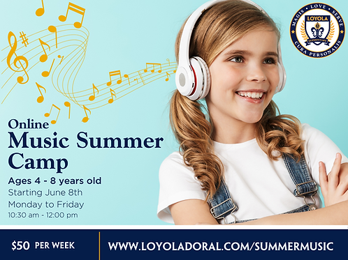 Week 4 Online Music Camp (June 29 - July 3)
