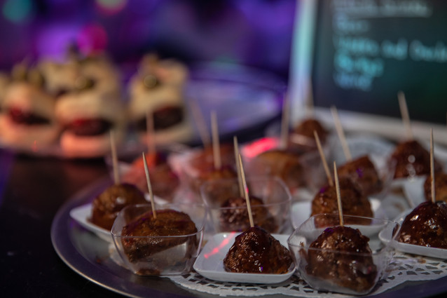 meat skewer for party catering service