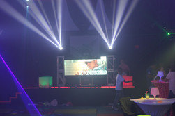 multi purpose led party display with light show