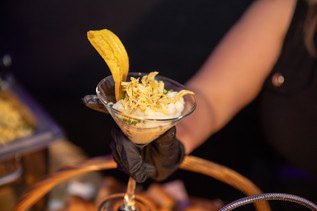 cup of food at party catering service