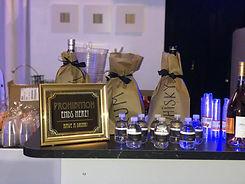 Bar service in a event venue