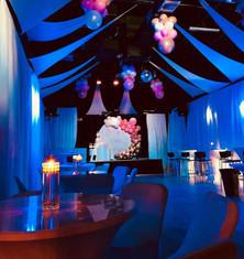 event venue decoration for 15th birthday