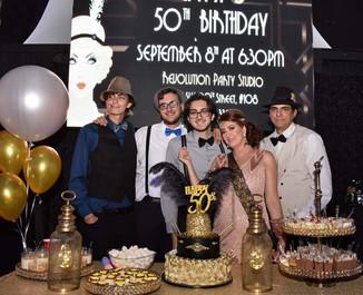 50th Birthday in event venue in miami