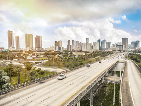 Driving on South Florida's Highways Under Construction