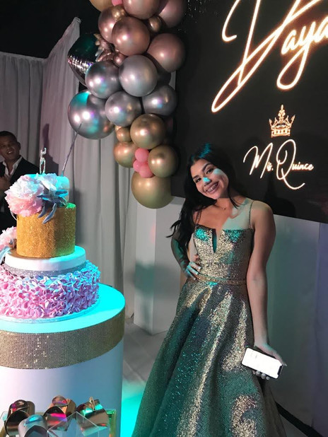 15th birthday in party venue in miami