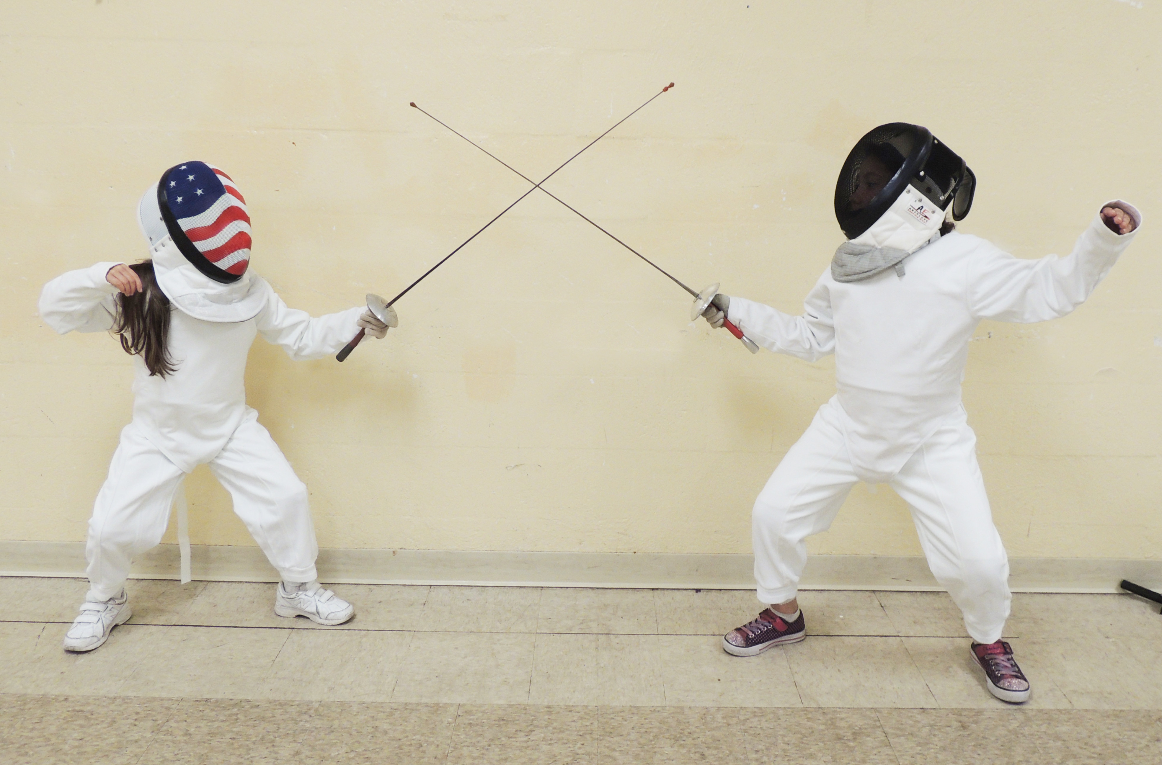 Kids Fencing Group Class (5-9 years old)