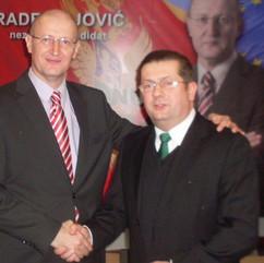 Rade Bojović i Nenad Stevović