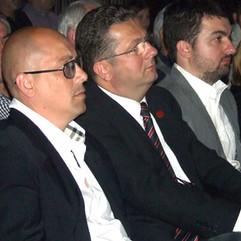 Dusan Zugic, Nenad Stevovic i Milo Milojko
