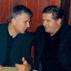 Zoran Đinđić i Nenad Stevović