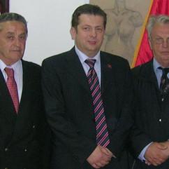 Ivan J. Brajovic, Nenad Stevovic i dr Radomir Pavicevic, Rijeka 2005