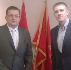 Nenad Stevović i Igor Lukšić