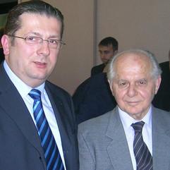 Nenad Stevović i Mijat Šuković, 2006.