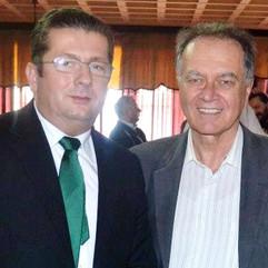 Nenad Stevović i diplomata Branko Lukov