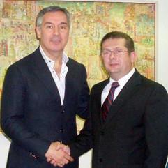 Milo Đukanović i Nenad Stevović, 2011.
