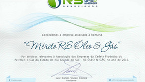Começando 2016: Prêmio RS Óleo, Gás & Energia