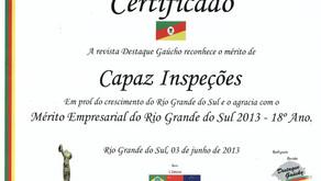 Destaque Gaúcho - Mérito Empresarial