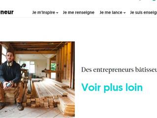 Des entrepreneurs bâtisseurs - De nouvelles idées dans le domaine de la construction