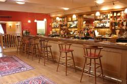 West Meon Hut Bar Area