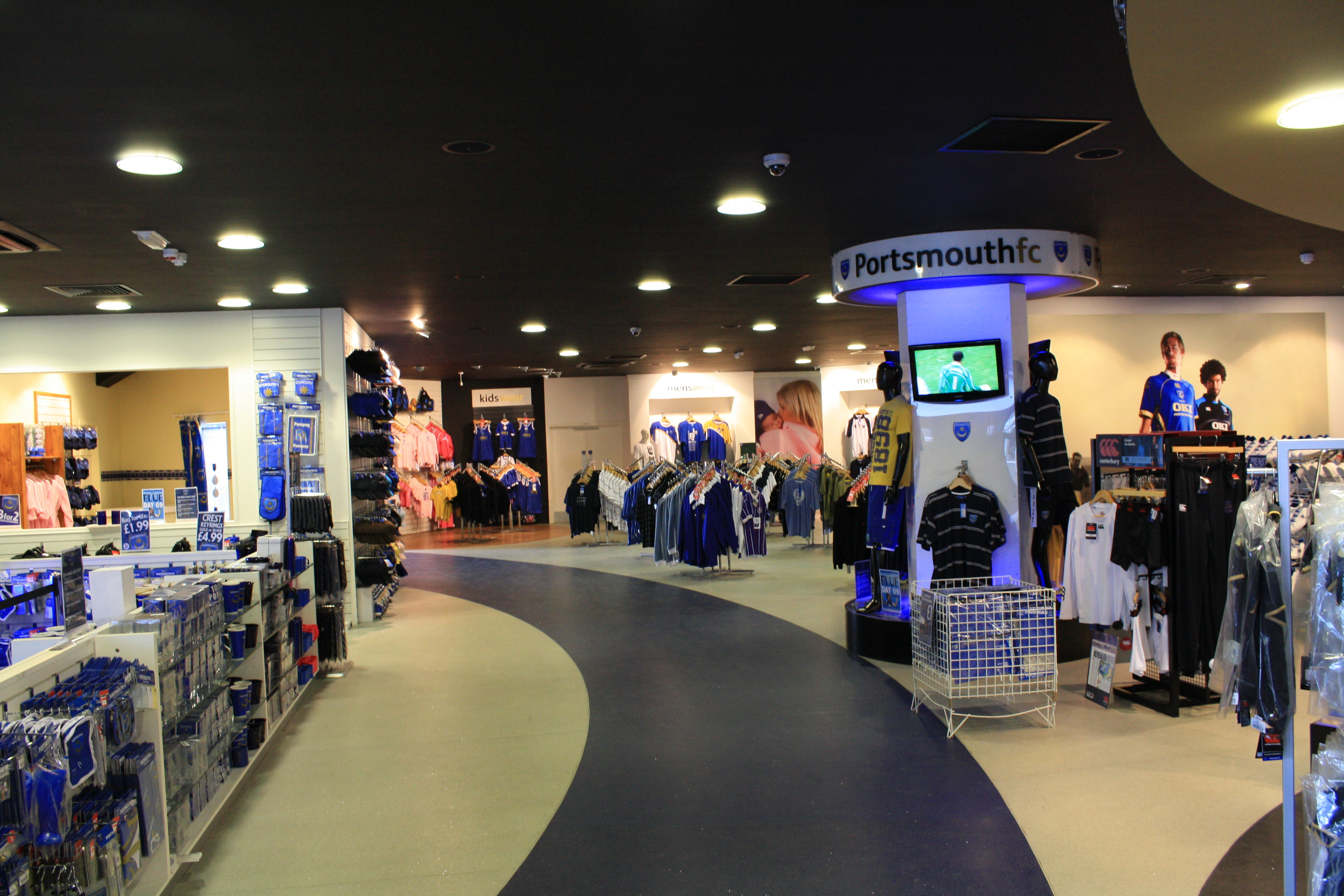 Portsmouth Football Club Shop