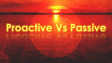 Proactive Vs Passive