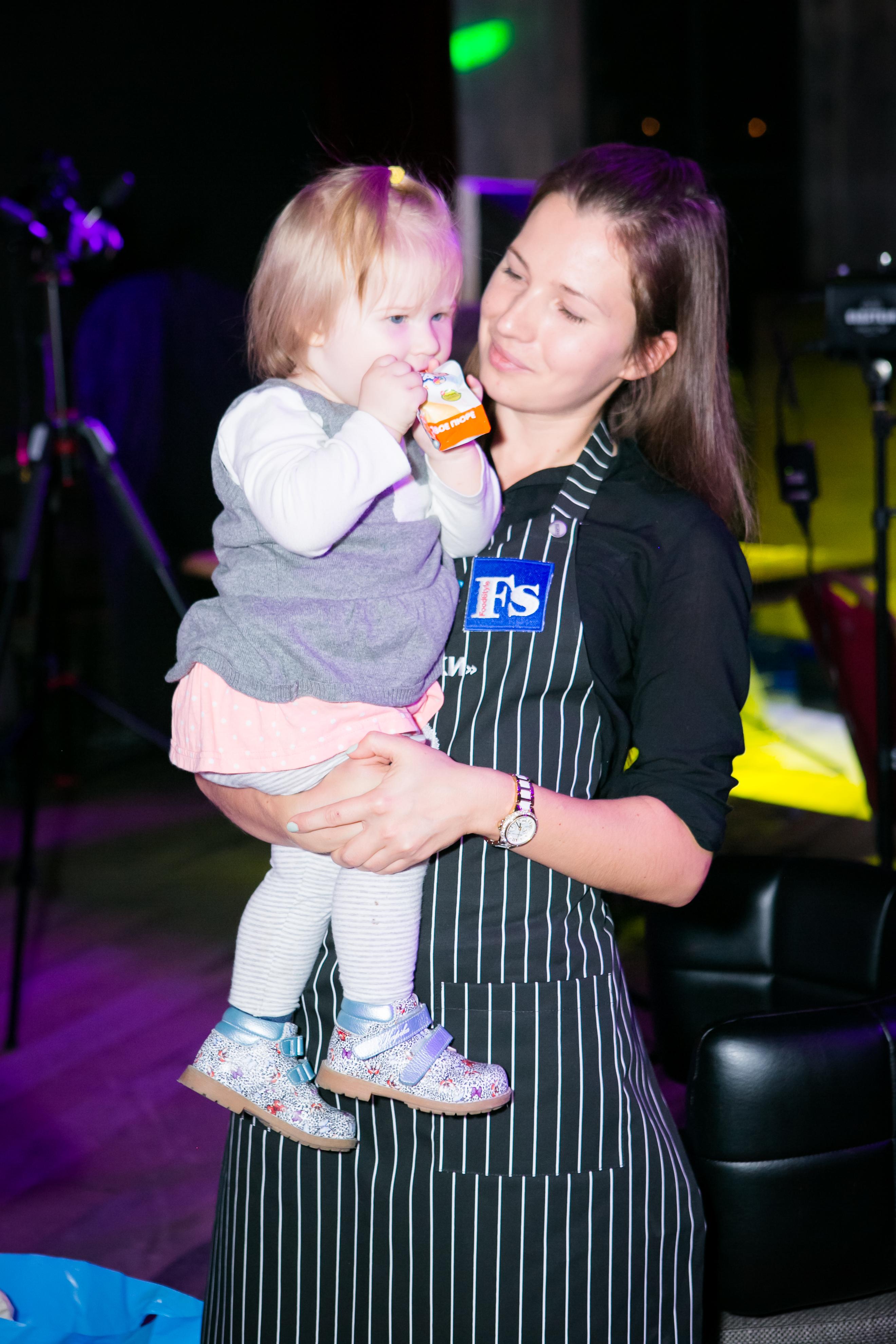 Ирина Суглобова с дочкой
