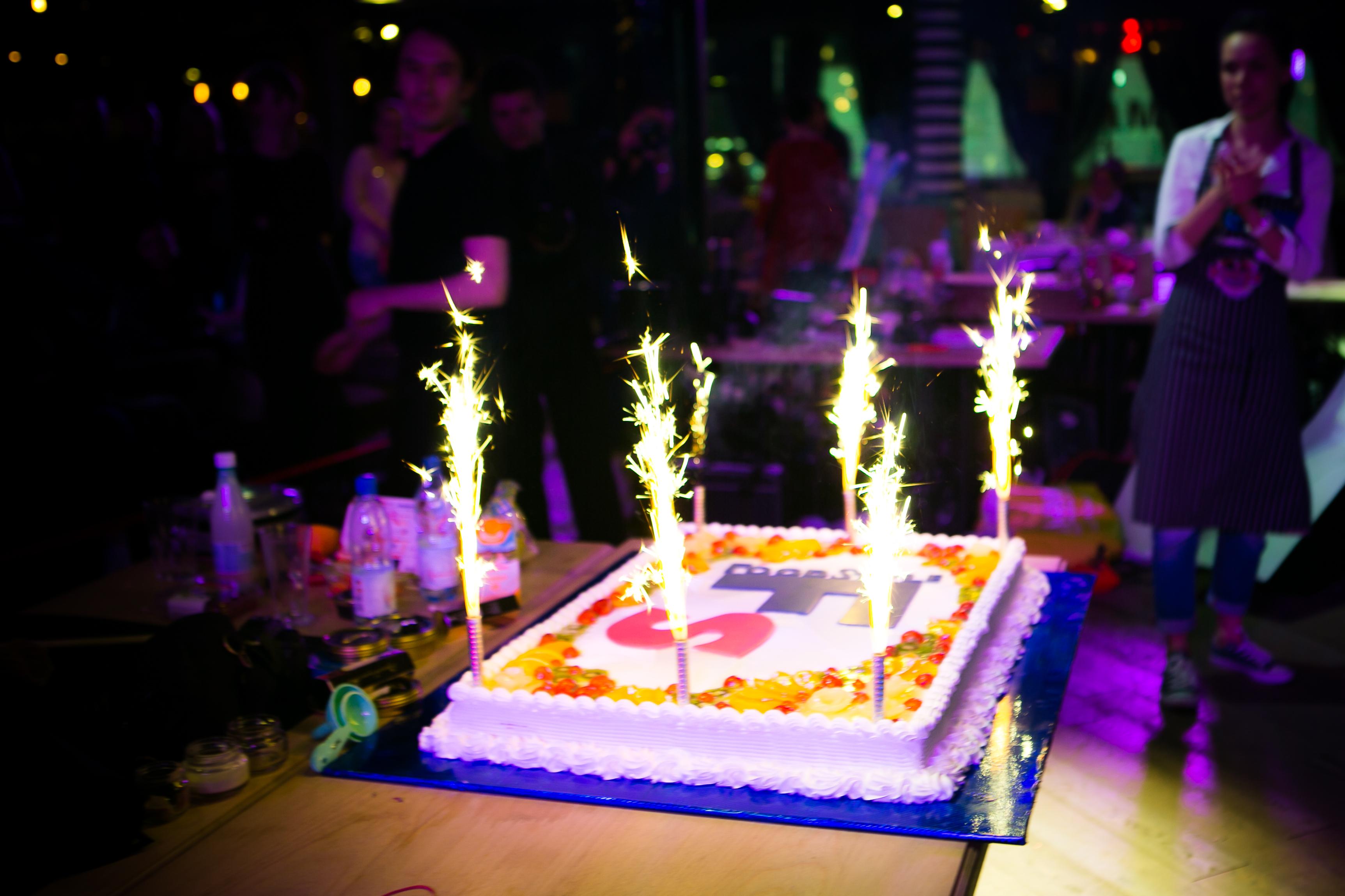 Праздничный торт в честь турнира