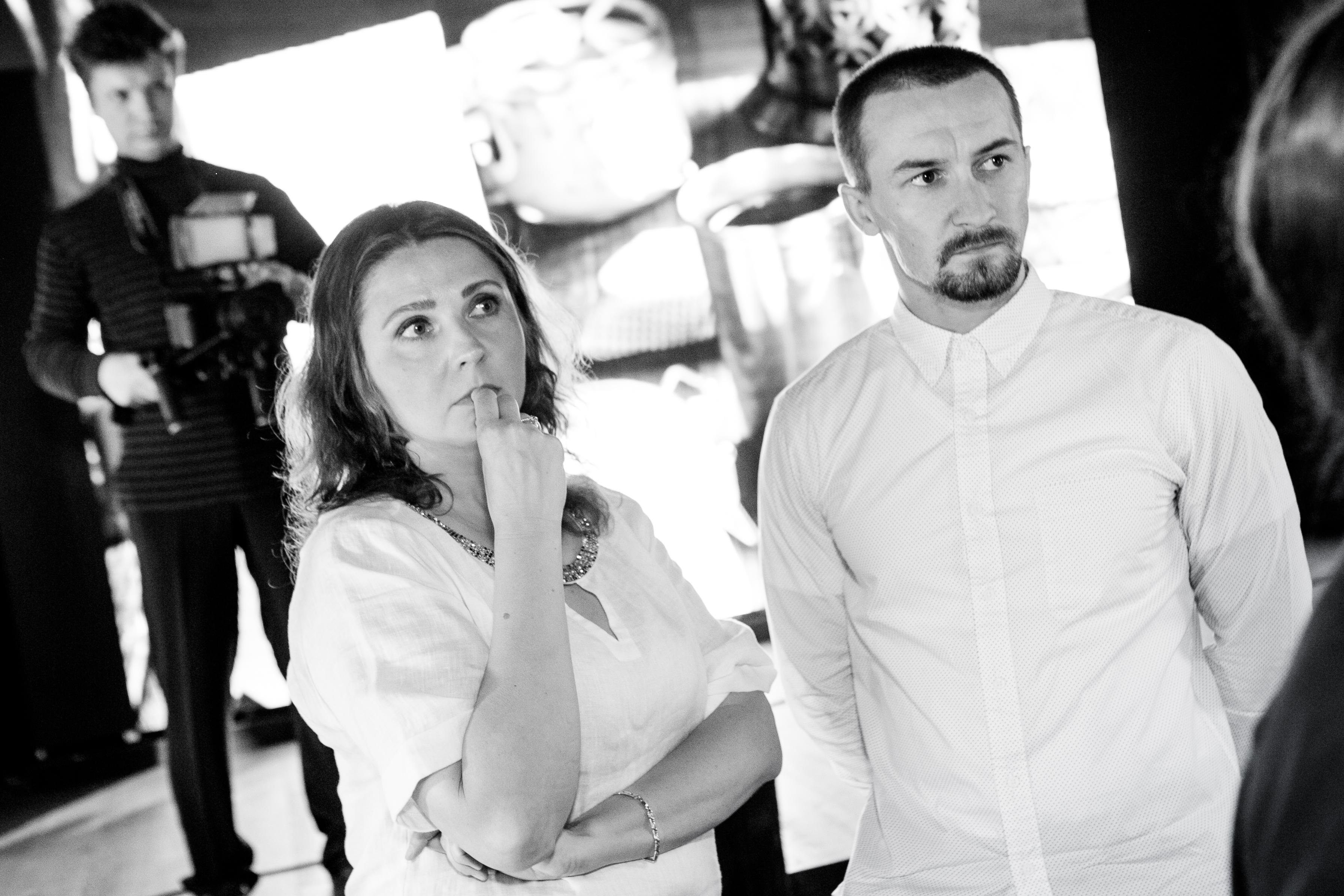 Екатерина Моргунова и Александр Подгорных _ победители турнира 2015_в этом году в жюри