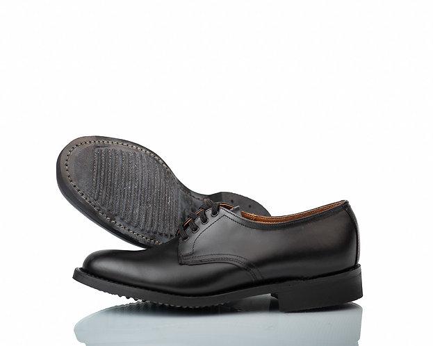Parabellum shoe - Derby plain vamp service shoe.