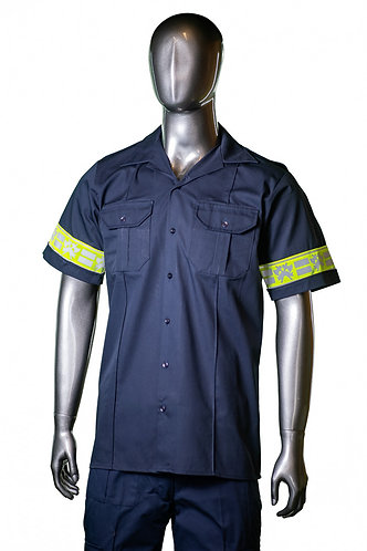 Combat shirt - Short sleeve with crossed axes reflective tape