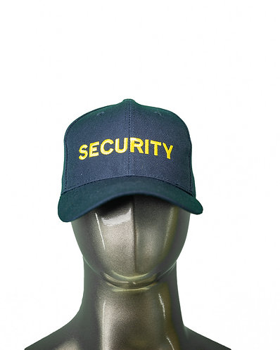 Baseball cap - Embroidered - Security