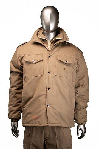 Double collar jacket - Hip length