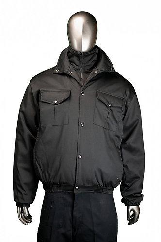 Double collar jacket - Bunny Style - Black