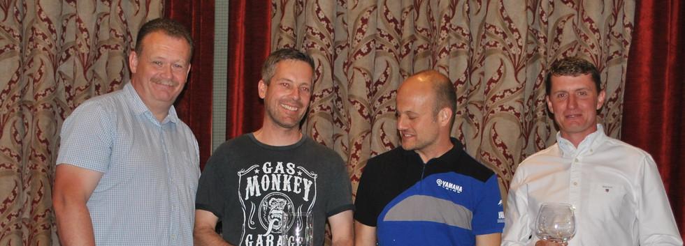 Vets Expert 1st Andrew Edwards 2nd Rowan