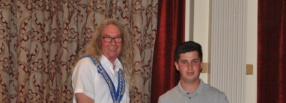 Mayor and Billy Mason (Newbridge) best m