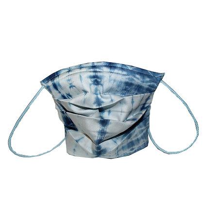 Indigo dye snake Mask