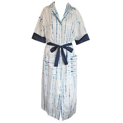Indigo dye snake SH Dress